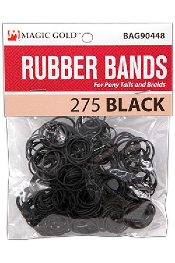 Magic Gold Rubber Bands (275 - Black)