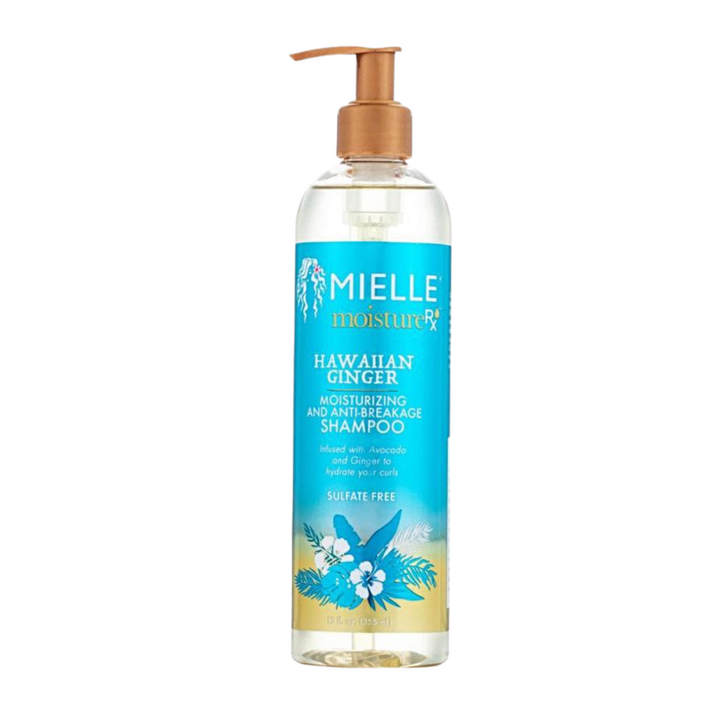 Mielle MoistureRX Hawaiian Ginger Moisturizing Anti-Breakage Shampoo (12 oz)