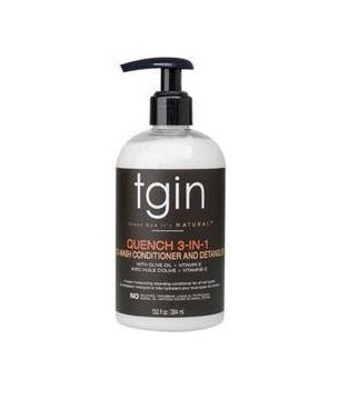 TGIN Quench 3 in 1 Co-Wash Conditioner and Detangler - empress mane