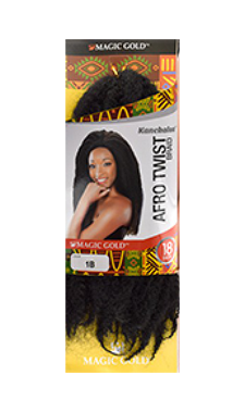 "Magic Gold Collection Afro Twisting Hair - 18"" - empress mane"