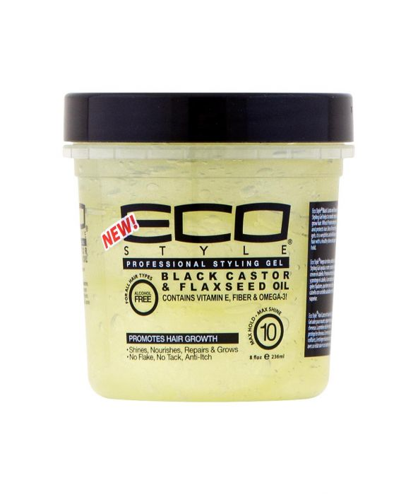 EcoStyler Professional Styling Gel - Black Castor Oil & Flaxseed - empress mane