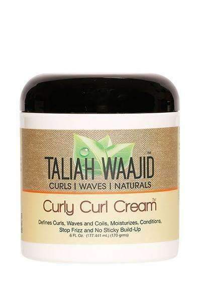 Taliah Waajid Curly Curl Cream (6oz) - empress mane
