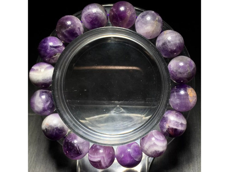 Ametrine is a powerful combination of Amethyst and Citrine