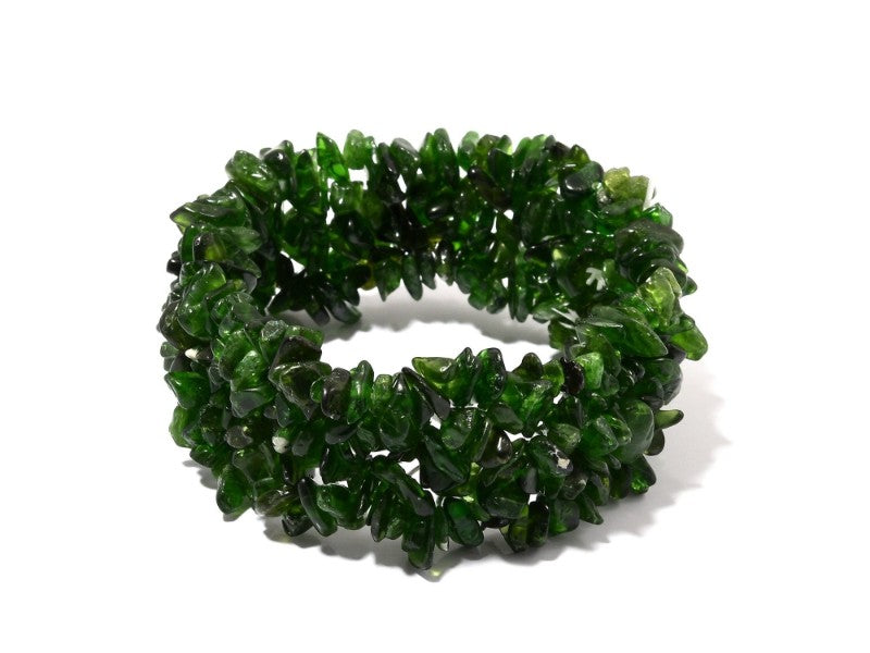 Chrome Diopside Nugget Cuff
