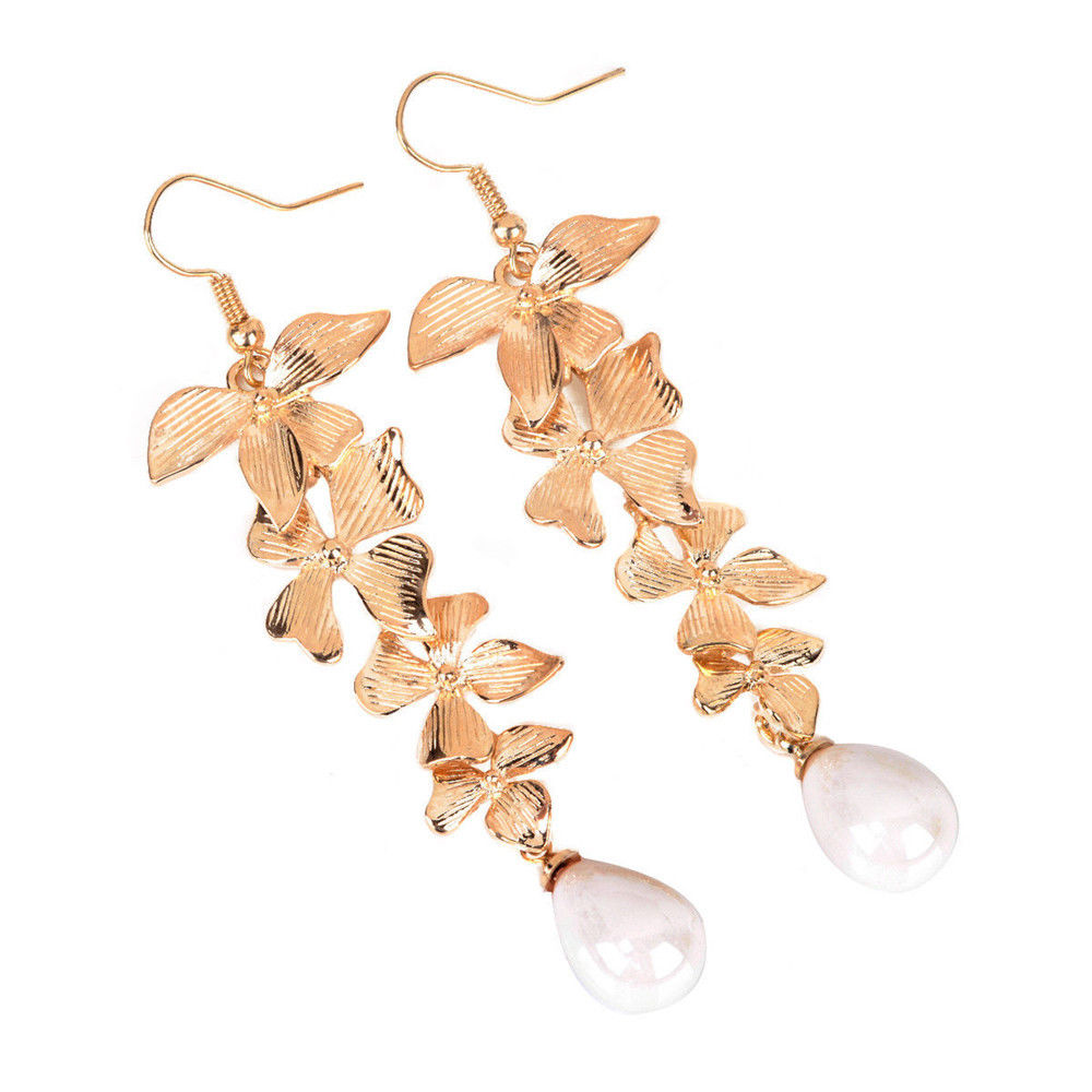 Pearl Faux Earrings - Pisces Secrets LLC
