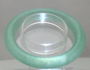 Bluer Jade - Inner Blue Light Bangle Graded AAAAA