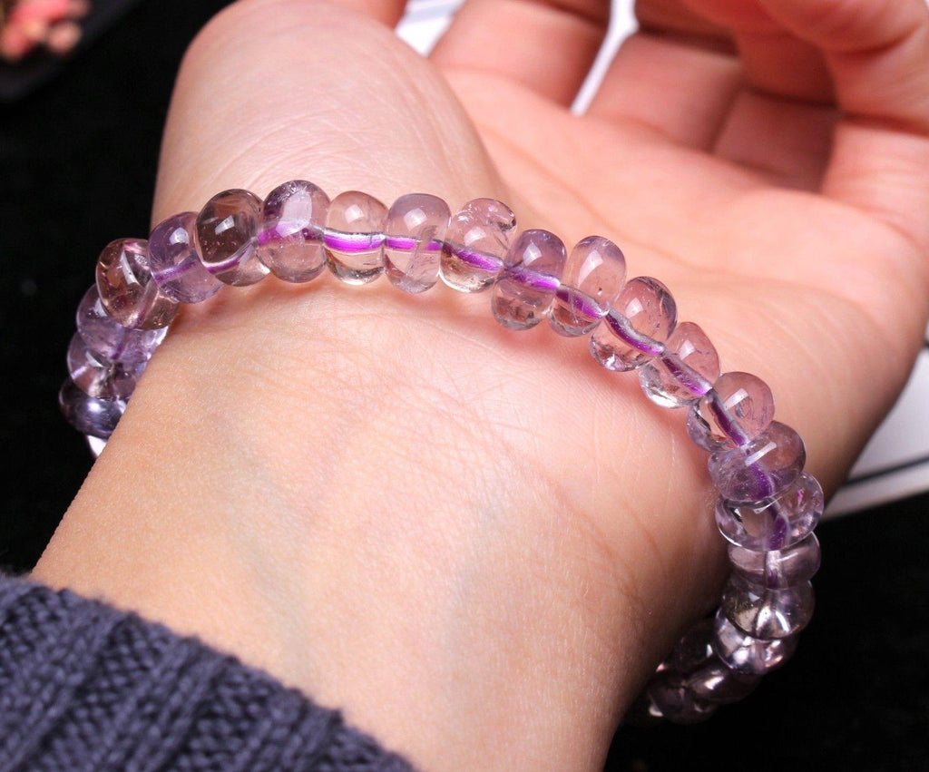 Ametrine Bracelet (Genuine Purple-Yellow Amethyst)