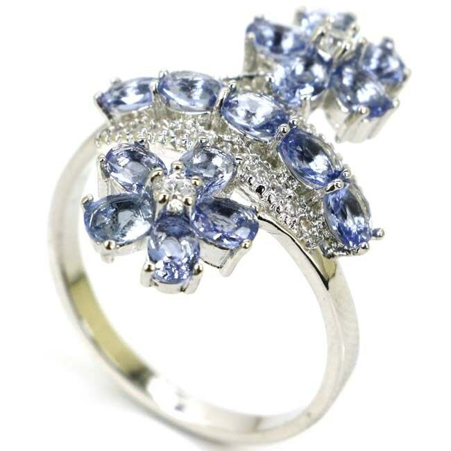 Iolite Ring - size 8
