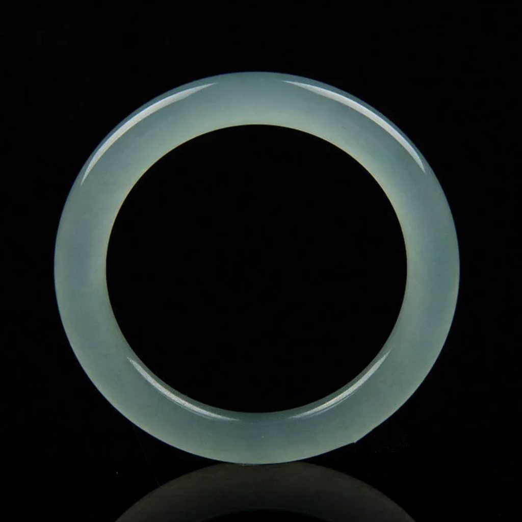 Bluer Jade Bangle Bracelet Graded AAAAA