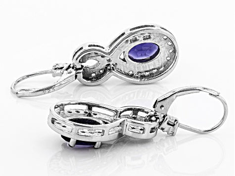 Iolite Earrings for Visionaries