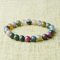 Colorful and Powerful Beaded Agate Bracelet