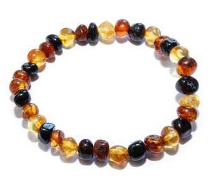 Amber Bracelet from the Baltic - Mixed Amber Bracelet