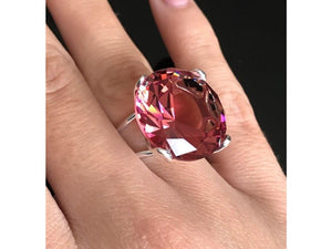 Alexandrite Ring Color changing stone Size 7