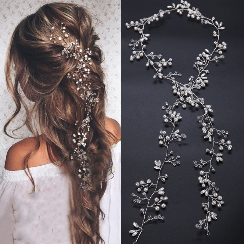 Pearl & Hair Statement Set