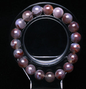 Auralite 23 Bracelet- 10 MM Crystals reflect universe trapped inside