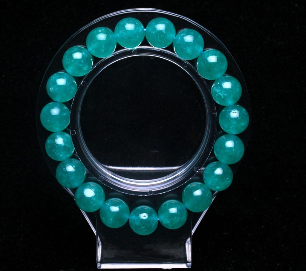 Amazonite Ice Beaded Bracelet