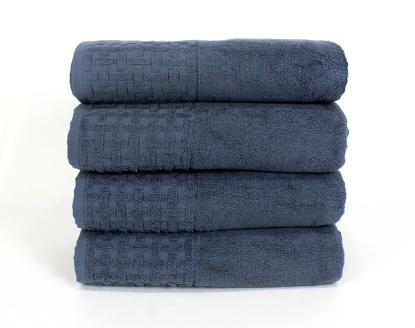 Stone Bath Towel 30x54 / Dusty Blue bath
