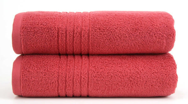 Luxe Bath Towel 27x54 / Coral bath
