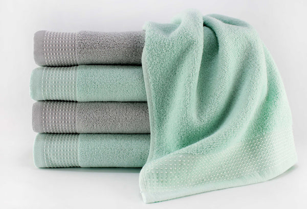 Cicily Face Towel 12x12 / Mint Green bath