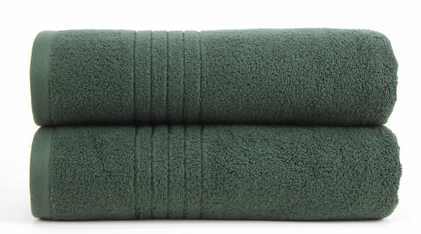 Luxe Bath Towel 27x54 / Green bath