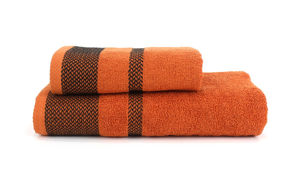 Legacy Hand Towel 20x35 / Orange bath