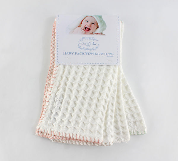 Baby Face Towel Wipes 9x9 baby