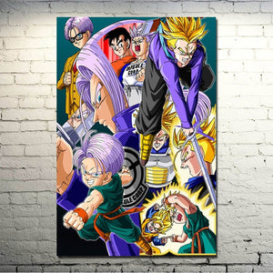 Peinture dragon ball z