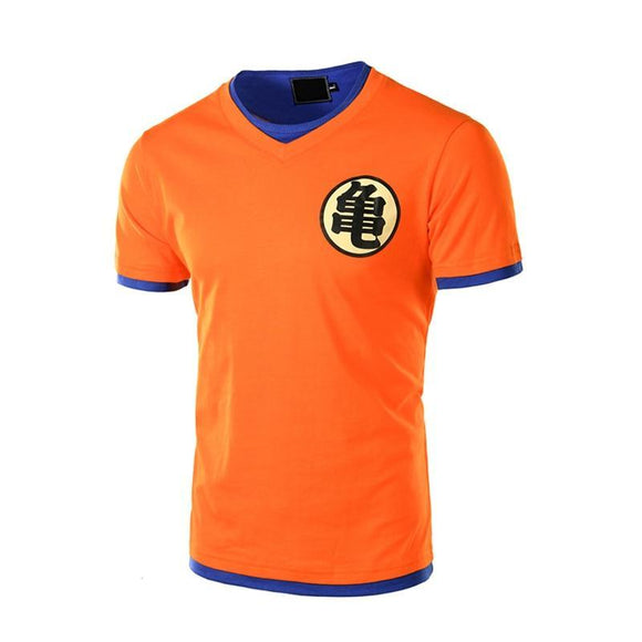 T-shirt Dragon Ball Z orange