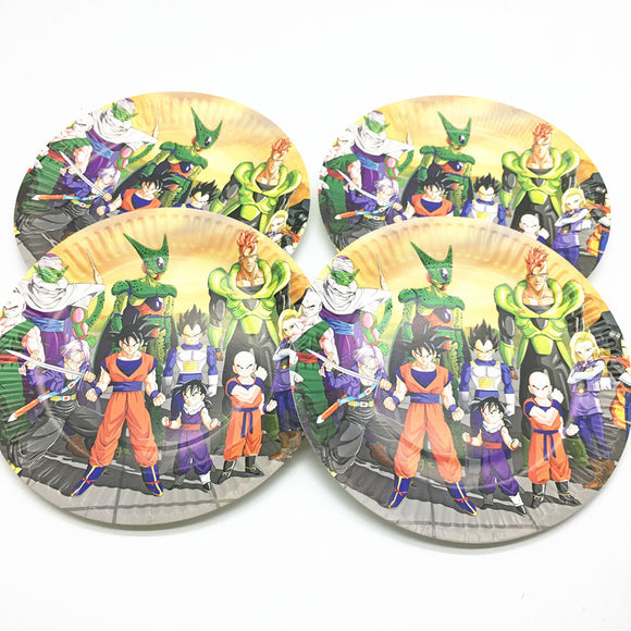 Assiettes dragon ball z