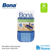 Bona Wood Floor Cleaner 2.5L + 850ml Refillable Cartridge + Cleaning Pad