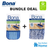 Bona Microfibre Cleaning Pad + Dusting Pad suit Spray Mop