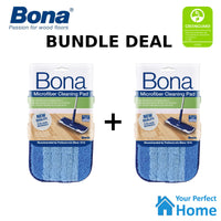 2 x Bona Microfibre Cleaning Pad