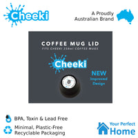 Cheeki Replacement Lid suit 350ml Insulated Leakproof Travel Coffee Mug