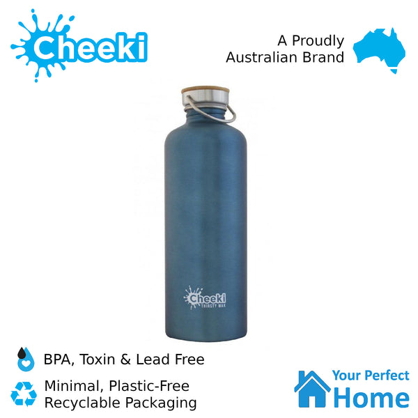 Cheeki 1.6L Thirsty Max Stainless Steel Water Bottle
