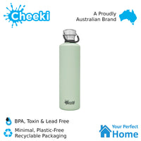 Cheeki 1L Classic Stainless Steel Water Bottle