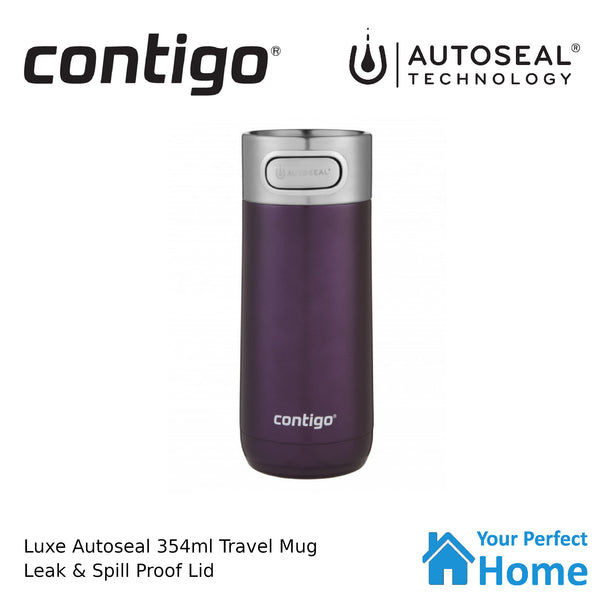 Contigo Luxe Autoseal Vacuum Insulated Travel Mug 354ml Merlot