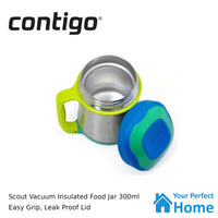 Contigo Scout Vacuum Insulated Kids Food Jar 300ml Cobalt