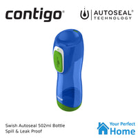 Contigo Autoseal Swish 502ml Water Bottle Cobalt