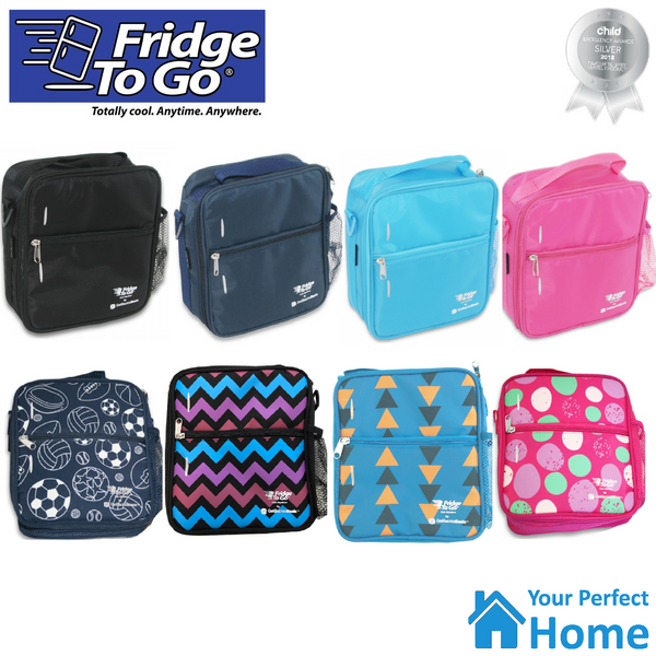 Fridge To Go Medium Insulated Lunch Bag with Cooling Panel