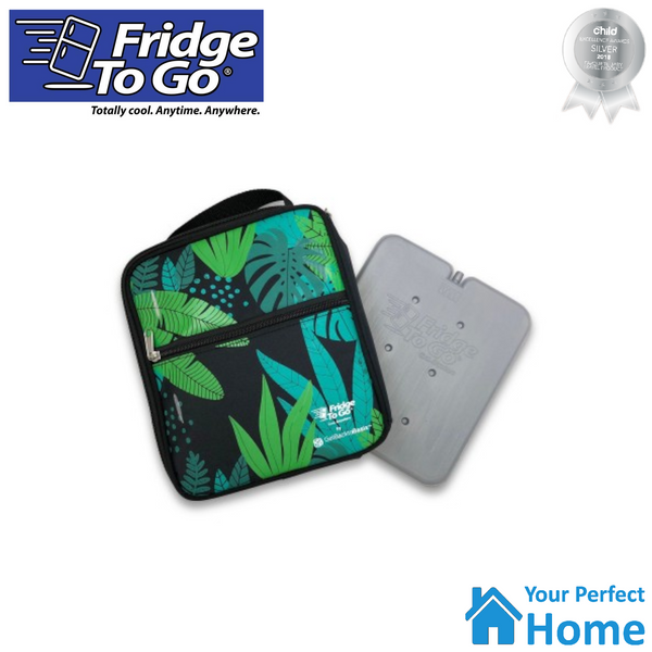 NEW Fridge To Go Medium Insulated Lunch Bag with Cooling Panel