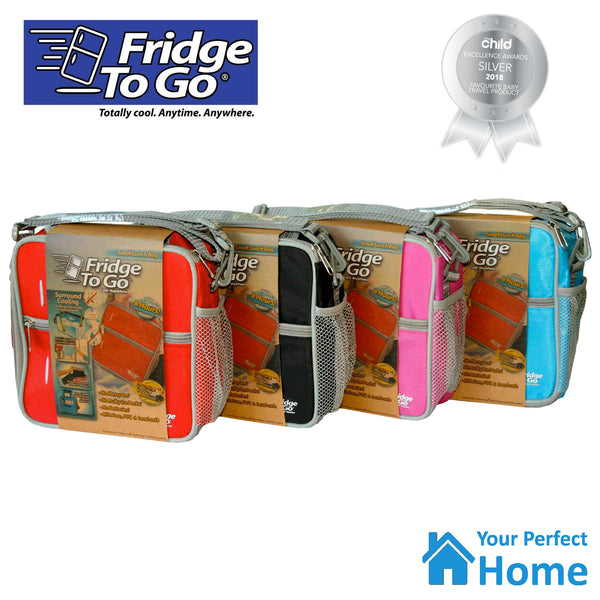 Fridge To Go Small Insulated Lunch Bag with Cooling Panel