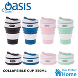 Oasis 350ml Collapsible Silicone Coffee Tea Cup BPA Free