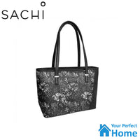 Sachi Style 230 Insulated Lunch Bag Tote with Carry Strap Moonlight Palms