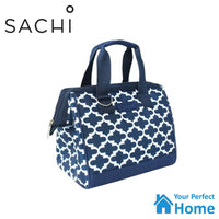 Sachi Style 34 Insulated Lunch Bag Tote with 750ml Oasis Insulated Bottle Moroccan Gift Set