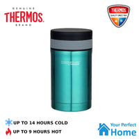 Thermos THERMOcafe 500ml Stainless Steel Vacuum Insulated Food Jar + Spoon