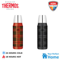 Thermos 470ml Retro Vacuum Insulated Stainless Steel Flask Beverage Bottle