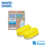 White Magic Shower Eraser Sponge Refill Twin Pack