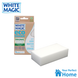 x3  White Magic Eco Eraser Standard Microfibre Cleaning Sponges