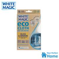 White Magic Eco Cloth Window & Glass with Bonus Cleaning Cloth