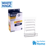 White Magic i-hook Suction Pantry Organiser for Paper Towel and Wraps